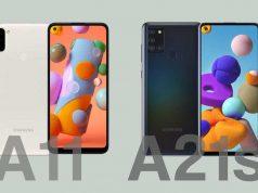 Samsung Galaxy A11 vs A21s