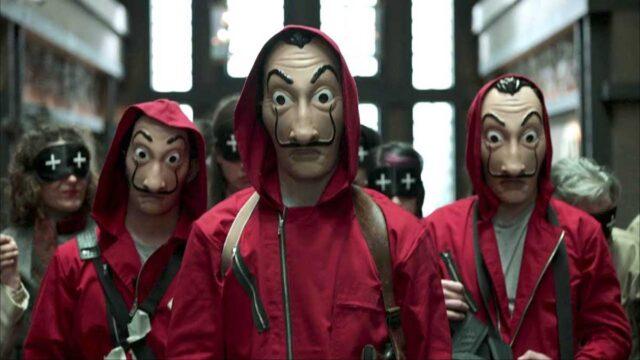 Money Heist - Salah satu tayangan Netflix