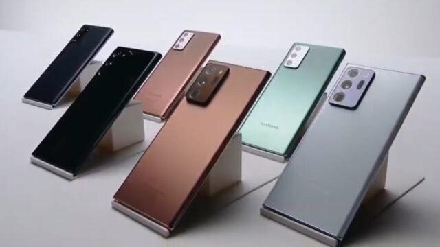 Spesifikasi Galaxy Note20 dan Note20 Ultra
